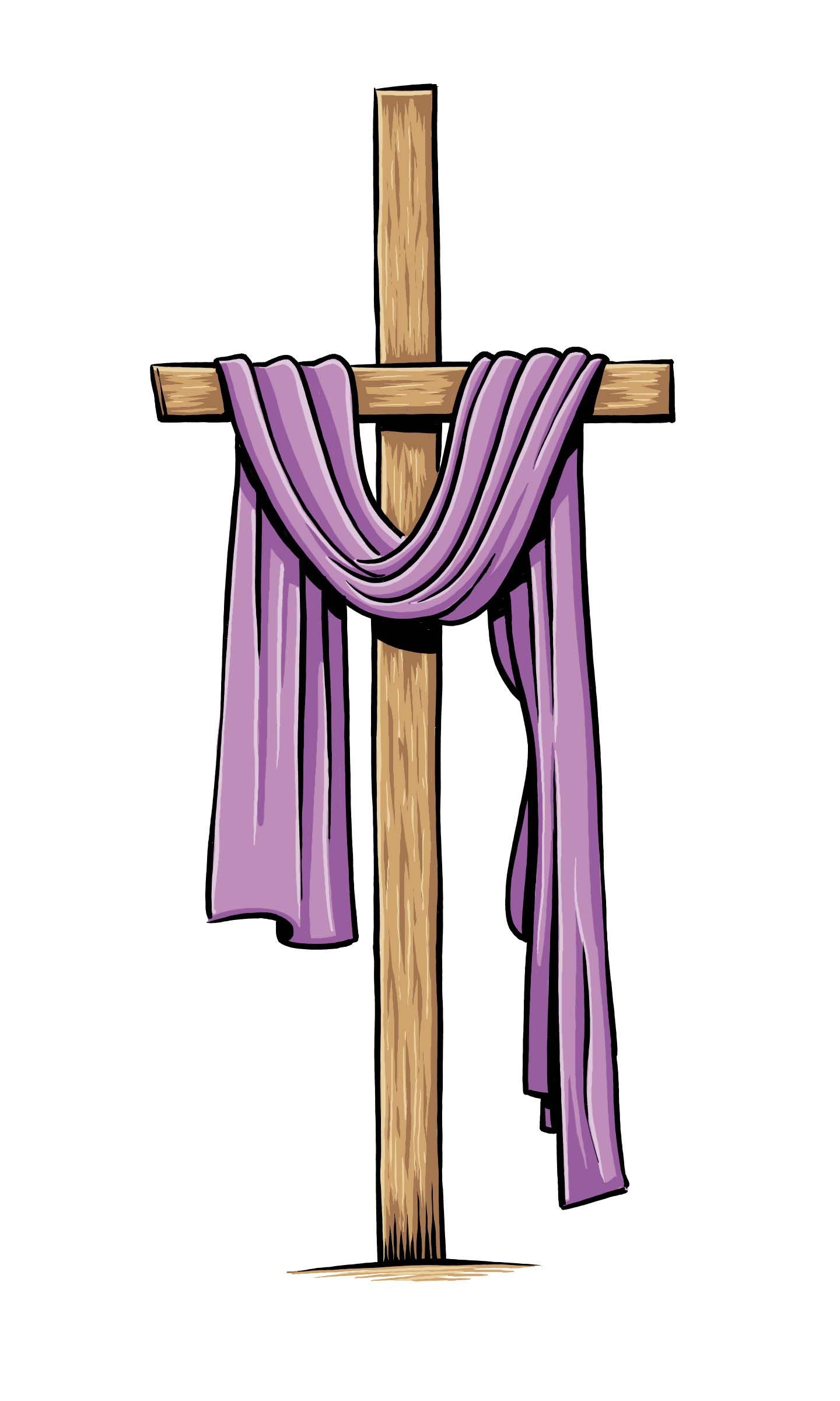 lent purple cross most holy trinity catholic church clip art religious easter figures clipart religious easter free